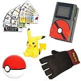 Foto Tomy T18201 Pokemon Pikachu Pokedex Trainer Kit