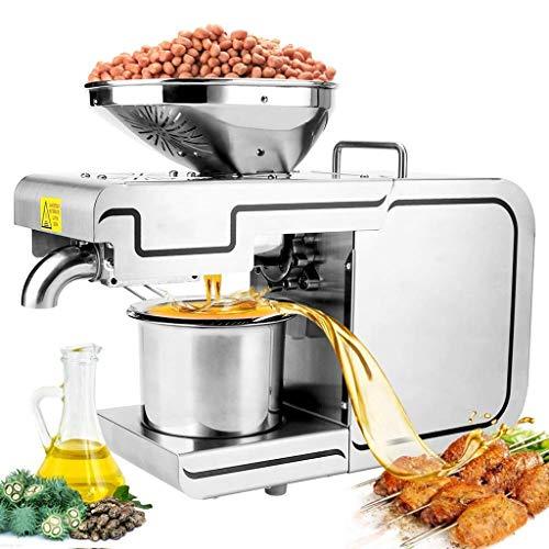 Dciszl Öl-Presse-Maschine, Home/Eismaschinen/Hot-Nussöl Extractor Edelstahl Seed Oil Presse for Coconut Castor Olivenöl Expeller