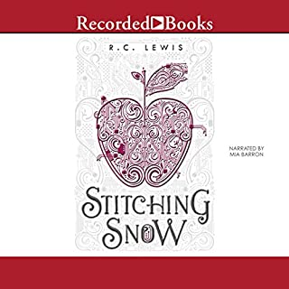 Stitching Snow audiobook cover art