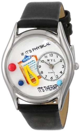 Whimsical Watches Women's S0610006 Physical Therapist Black...