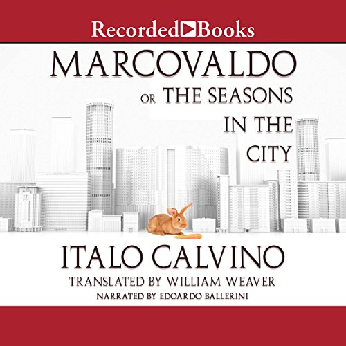 Marcovaldo audiobook cover art