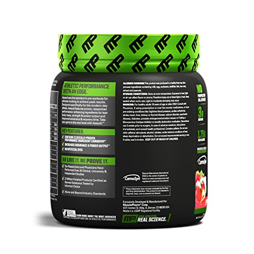 Assault Pre-Workout 30 servings Fragola - 51Yxpjpc2HL