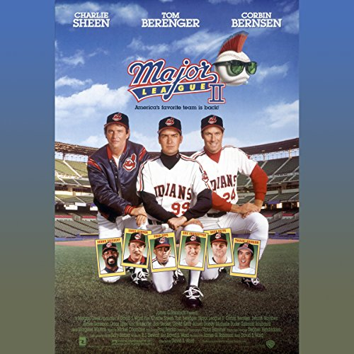 Major League II audiobook cover art