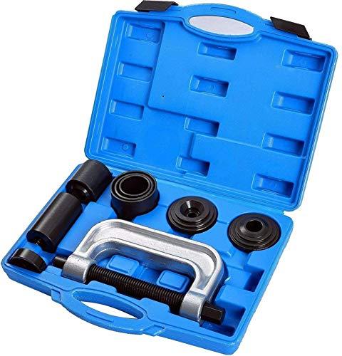 Fourward 10 pièces Articulation Extracteur de rotules Extracteur de rotules Kit,4 en 1 kit Arrache-rotules Trousse à Outils Automatique 2WD et 4WD de réparation de Voiture installateur de Remover