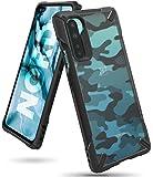 Ringke Fusion-X DDP fürs OnePlus Nord Hülle, Militär Muster Rückseite mit Verbesserter TPU Silikon Bumper Schutz - Camo Black