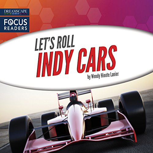 Indy Cars audiobook cover art