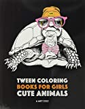 Tween Coloring Books For Girls: Cute Animals:...