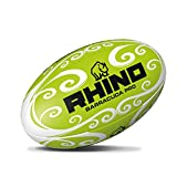Rhino Barracuda Beach Ballon de Rugby, Mixte, Barracuda, Vert, 4.5