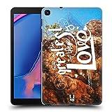 Head Case Designs Liebe Christliche Typografie Serie 3 Harte Rueckseiten Huelle kompatibel mit Galaxy Tab A 8.0 & S Pen 2019