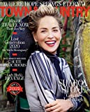 Town & Country Magazine October 2020 - Sharon Stone cover