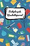 Frühjahrsputz Haushaltsjournal: Putz-Utensilien! Haushaltstipps gegen das Chaos plus Putzplan mit Zimmer-Checklisten. Mit diesem Notizbuch ist euer Haushalt immer tipptopp organisiert und aufgeräumt.