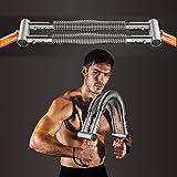 HUWAI-F Barra Flexible para Entrenamiento - Poder Twister Fitness Flexible elástico Primavera Ejercicios Barra, Musculacion Pesas Ejercicio, Equipos de Gimnasio en casa!