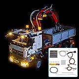 BouBou Kit De Iluminación con Luz Led Solo para Lego 42043 Technic para Mercedes-Benz Arocs 3245