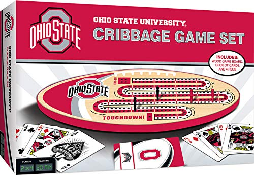 MasterPieces NCAA Ohio State Buckeyes Cribbage Game, One Size