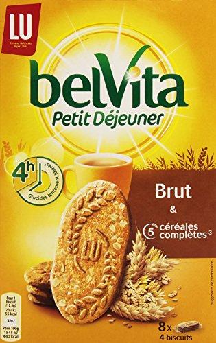 Belvita Biscuits Petit Déjeuner Brut 5 Céréales Complètes 400 g