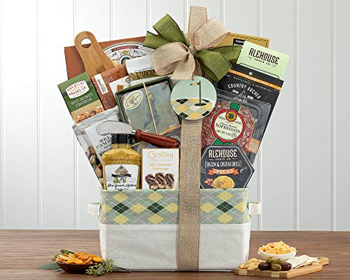Golf Gift Basket - The Hole in One Golf Gift Basket by Wine...