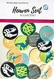 15 círculos de dinosaurios de Parque Jurásico (A) de 4 cm, comestibles para decorar magdalenas, fiestas de cumpleaños, decoración de tartas y tartas fáciles de cortar