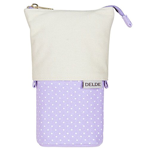 Sunstar Stationery Pen Case Delde Girly Light Violet S1409620