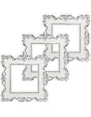 BESTZY Pegatinas para Interruptor de luz 3 Piezas Pegatinas Enchufe Socket Surround Pegatinas Cubierta Decoración del hogar Etiqueta (Blanco)