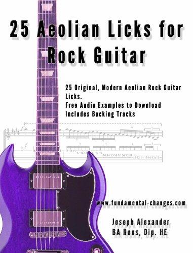 25 Aeolian Licks for Rock Guitar (Rock Guitar Licks Book 1 ...
