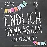 Endlich Gymnasium, Fotoalbum zur Einschulung in's Gymi 2020 für Mädchen und Jungen: Erinnerungsbuch & Album als Geschenk zum Schulstart am Gymnasium ... Schülerinnen und Schüler der 5. Klasse