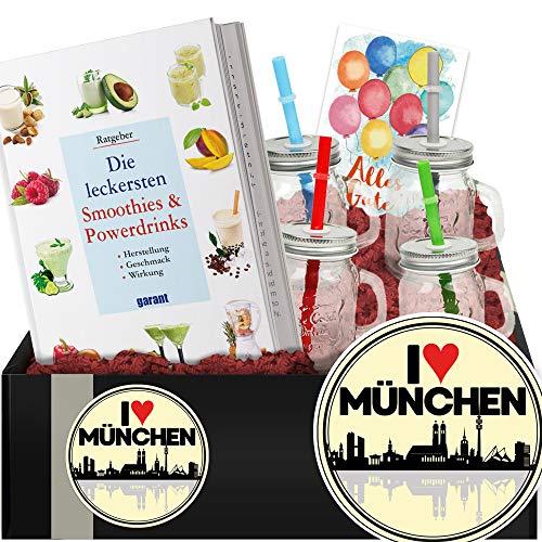 I love München - Geschenk Smoothies und Shakes - Geschenk Umzug München