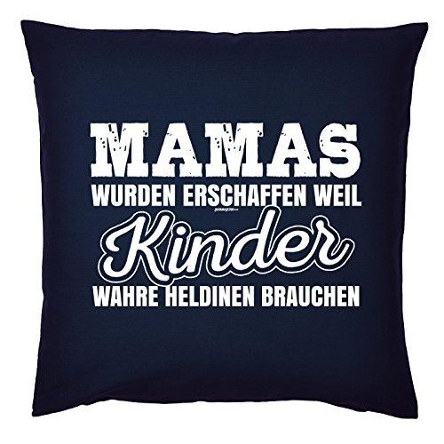 Art & Detail Shirt Coussin : Maman Mom Fête des Mères – Mamas ont été créé parce que les enfants vraie heldinen avons besoin de – Comme Présent