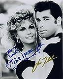 Grease - John Travolta & Olivia Newton John Signiert
