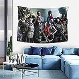 Tapiz para colgar en la pared Resident Evil Tapiz para dormitorio, decoración de la pared del hogar, manta de playa de 100 x 152 cm