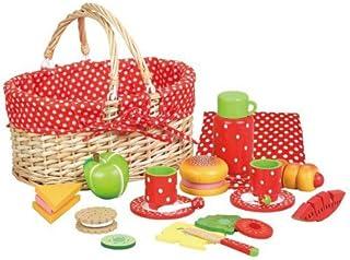 AM Leg - Cesta de picnic, diseño de fresas