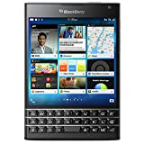 BlackBerry Passport - Smartphone Libre BlackBerry (Pantalla de 4.5', cámara de 13 MP, 32 GB, Quad-Core 2.2 GHz, 3 GB RAM), Negro