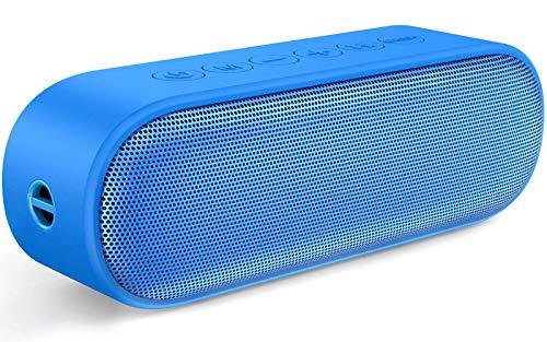 TWS Bluetooth Speaker [Upgraded], LENRUE Outdoor Enhanced IPX7 Waterproof...