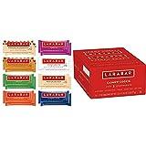Larabar Gluten Free Snack Bars Variety Box, Vegan, 8 Flavors, 1.7oz, 16ct & Fruit & Nut Bar, Cashew Cookie, Gluten Free, Vegan, 1.7 oz Bars (16 Count)