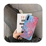 uulalala Liquid Art Coque pour Huawei Y5 II Y6 II Y5 Y6 Y7 Prime Y7Plus Y9 2018 2019-a15-For Y7...