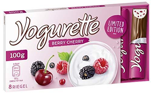 Yogurette Berry Cherry Limited Edition, 10er Pack (10 x 100g Tafel)
