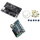 BKAUK Lot de 10 panneaux de circuit imprim/é en fibre PCB plaqu/ée cuivre