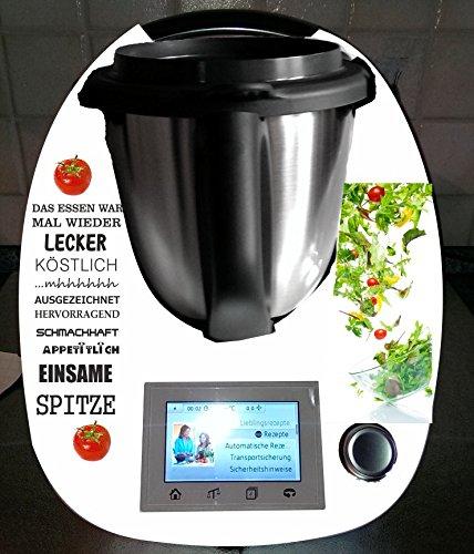 Stickers geschikt voor Thermomix TM 5 Salade