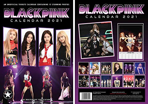 Calendario Tributo 2021 - Blackpink [DIN A3]