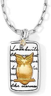 brighton owl necklace