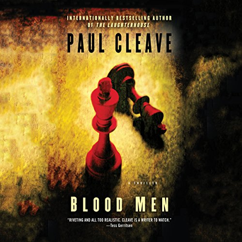 Blood Men audiobook cover art