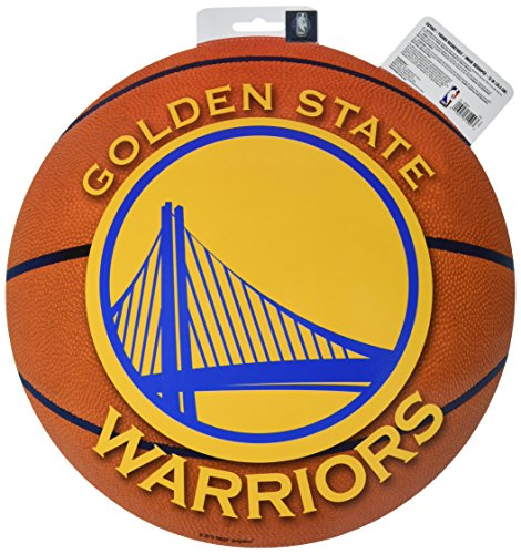 amscan 'Golden State Warriors NBA Collection Bulk Cutout, Party Decoration, 6 Ct.
