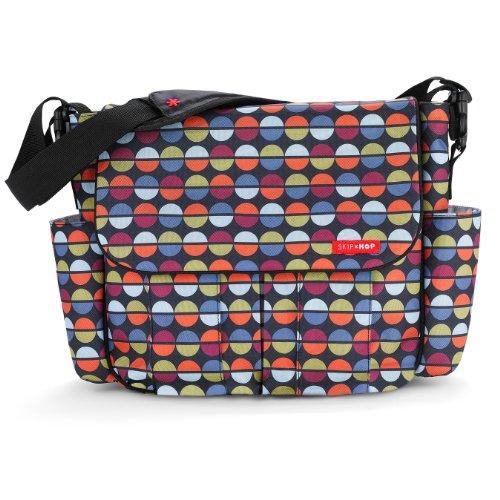 Skip Hop Dash Messenger Diaper Bag, Sequins