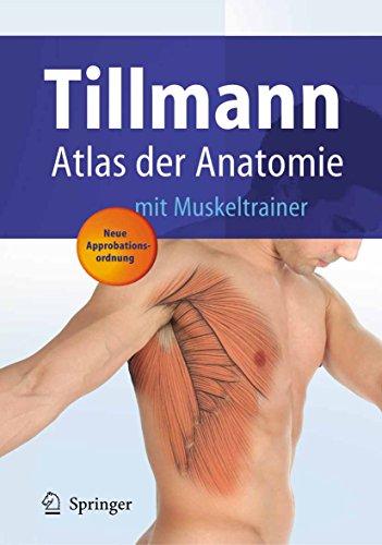 Atlas der Anatomie des Menschen: mit Muskeltrainer (Springer-Lehrbuch)