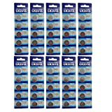 Taysing 50 Pack 3V High Capacity Lithium Button Coin Cell Batteries CR2016 DL2016 ECR2016 GPCR2016 Used in Most Electronic Devices