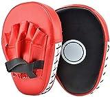 Queta Paracolpi Boxe 1 paio, Scudo Striking Target Pad Hitters Guanti da passata per Scudo Boxing, Kick Pad per boxe er arti marziali allenamento