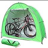 WXking Tente à vélo d'extérieur Couverture de vélo de vélo imperméable et anti-pluie Protection à vélos Tente extérieure, pour les vélos de jardin à la maison, outils de jardinage, outils de réparatio