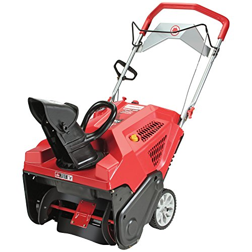 Troy-Bilt Squall 208cc Electric Start 21-Inch Single Stage...