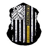 LSJBB Windshield Mask,Electrician Lineman American Flag Neck Warm Scarf Collar
