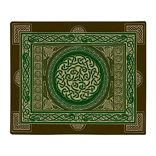 CafePress Celtic Knot Blanket Soft Fleece Throw Blanket, 50'x60' Stadium Blanket
