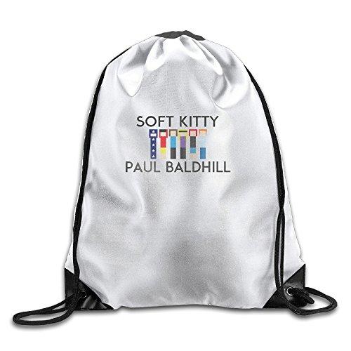 The Big Bang Theory - Soft Kitty Cool Drawstring Travel Sports Backpack